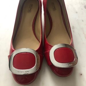 Michael Kors  Red Low Heels